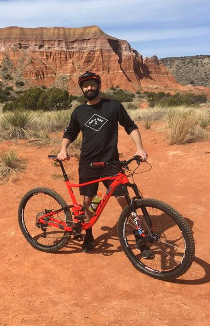 David Garrett mountain biking - Spokes Bicycles